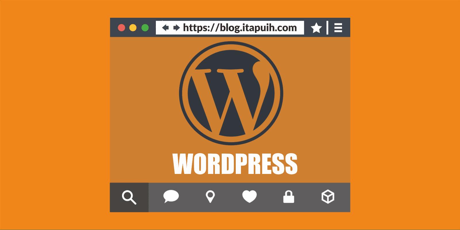 Cara Membuat Halaman Statis di Halaman Depan Wordpress