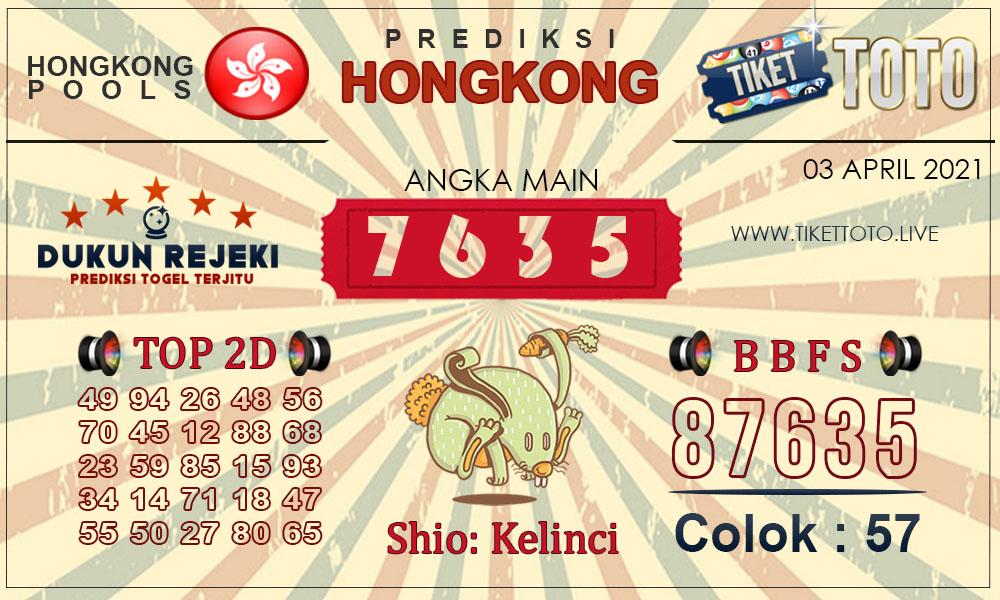 Prediksi Togel HONGKONG TIKETTOTO 03 APRIL 2021