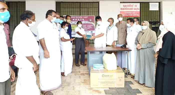 Support of KPSTA for distribution of medical equipment for COVID prevention activities