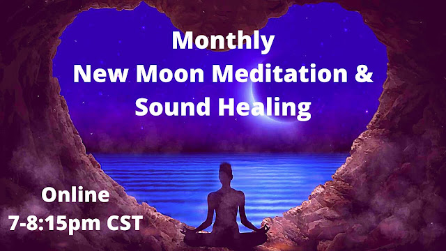 New Moon Meditation and Sound Healing with Bekah Kopec