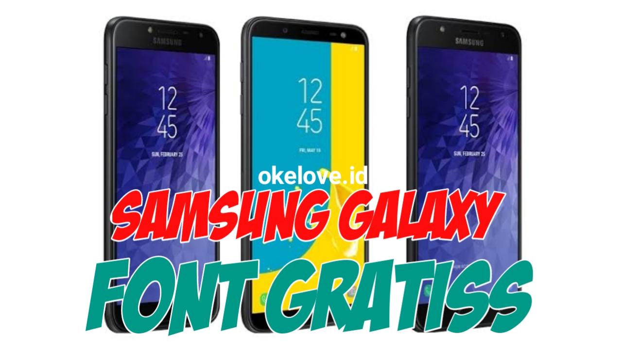 Cara Menambahkan Font Samsung Galaxy Gratis