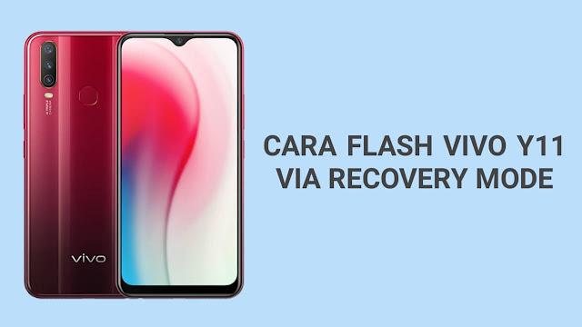 Cara Flash Vivo Y11