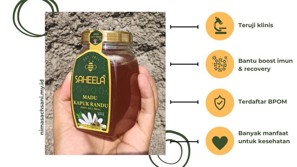 manfaat madu saheela