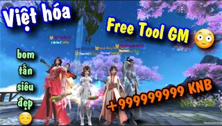 Tải game Trường Sinh Quyết Việt hóa Free Tool GM + 999999999 KNB | Ứng dụng tải Game Trung Quốc hay