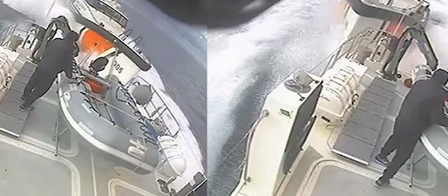Σκάφος της τουρκικής Ακτοφυλακής επιχείρησε να εμβολίσει πλωτό του Λιμενικού Σώματος