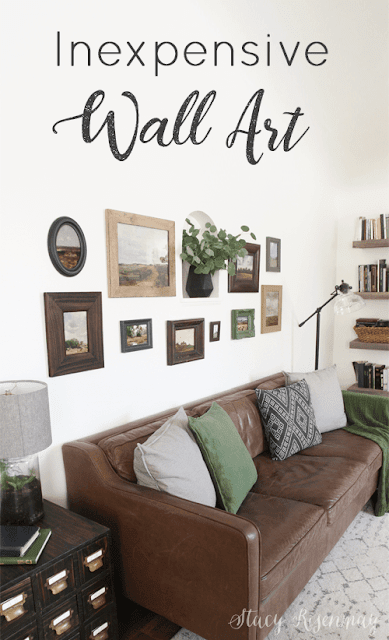 Inexpensive Gallery Wall Art Ideas