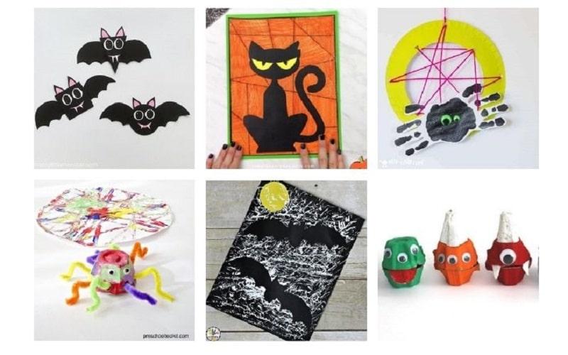 easy halloween kids crafts