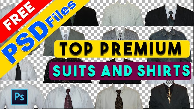 100+ Premium Men's Suits And Shirts PSD Templates Collection by Shazim Creations
