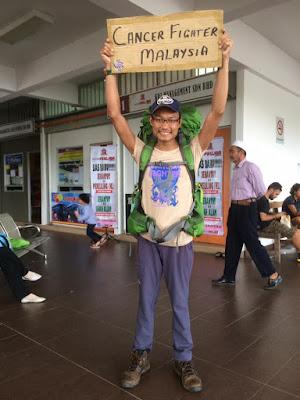 Pejuang Kanser Jelajah Borneo Dengan RM 1