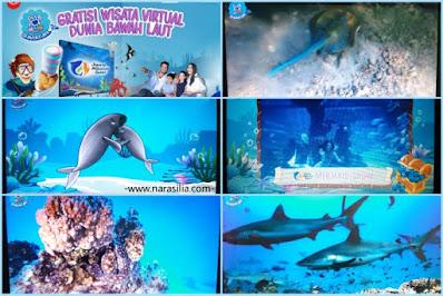 Asyiknya Nonton Seaventure Wisata Virtual Dunia Bawah Laut