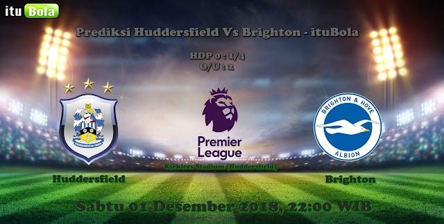 Prediksi Huddersfield Vs Brighton - ituBola