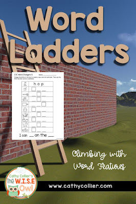 Using Word Ladders combines manipulating and applying letter/sound knowledge. It's a great way to help students truly understand the relationships with words.