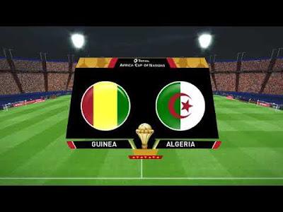 مشاهدة مباراة الجزائر وغينيا بث مباشر اليوم 7-7-2019 في كأس الأمم الإفريقية 2019