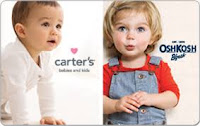 Carter's & OshKosh B'gosh are your places to shop online for kid's clothes!