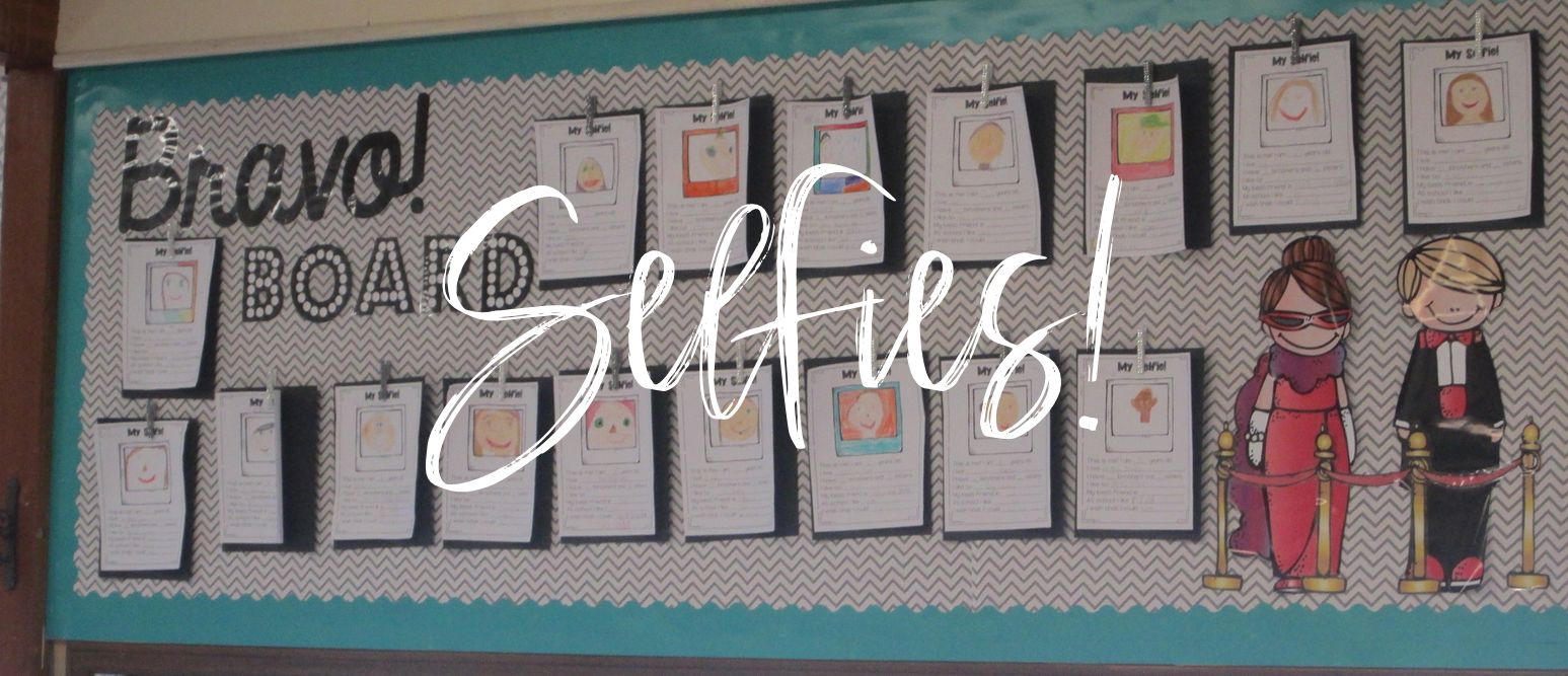 Selfies an All About Me craftivity project perfect for back to school