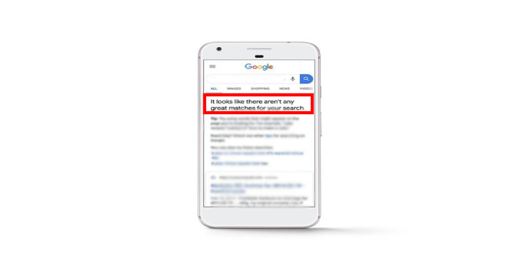 Google Will Now Alert You If The Search Results Aren't Adequate
