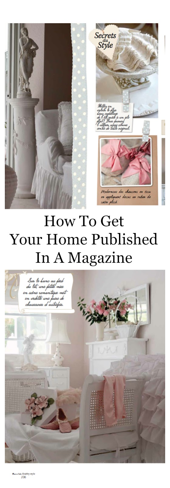 How To Get Your Home Published In A Magazine