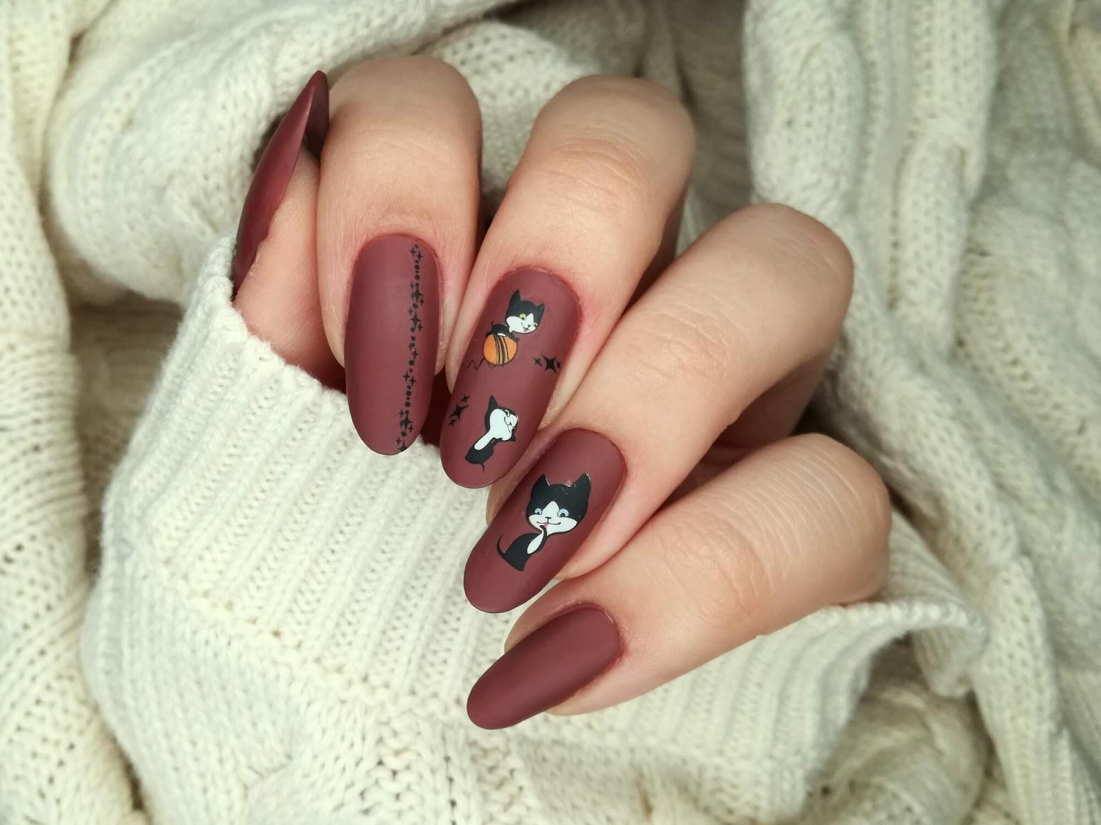paznokcie - kotki
