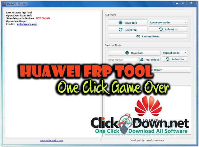 Download Huawei FRP Tool Pro Version One Click Remove All Huawei Frp Lock