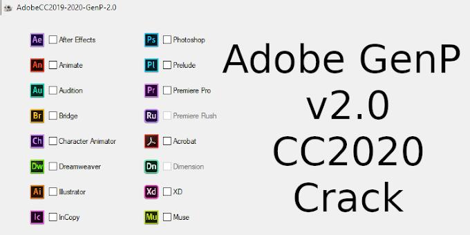 Adobe CC GenP 2.0 - Công cụ active mọi phiên bản Adobe CC 2019 - 2020