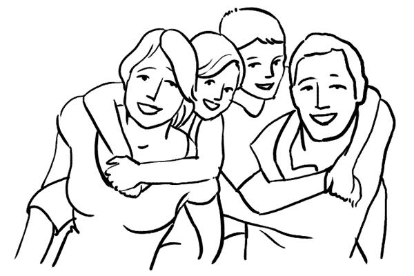 دليل أوضاع تصوير الأسرة بالصور 9