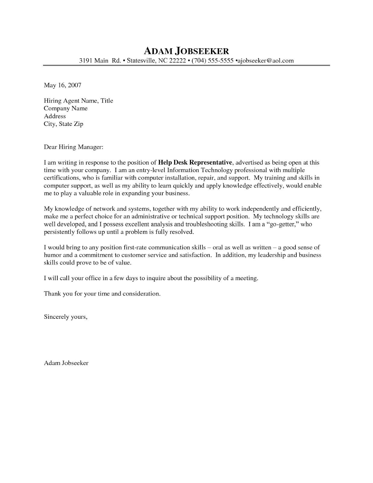 Cover letter format referral