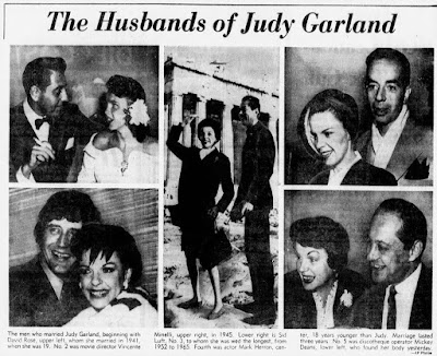 Judy Garland's Gay Husbands