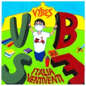"""Copertina di """"Italia ventiventi"""", il nuovo singolo di Vybes."""