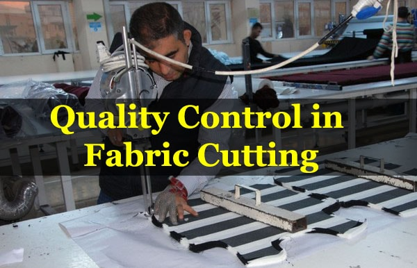 quality control of garments cutting room