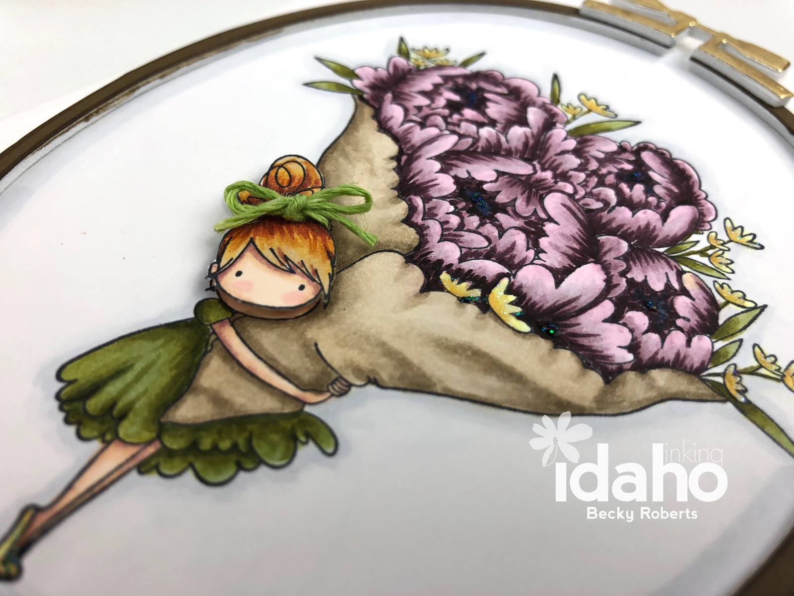Inking Idaho: Sweet Sentiment July Copic Coloring Class