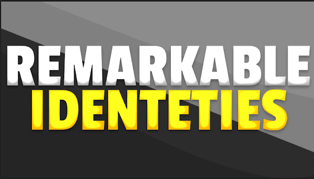 remarkable-identities