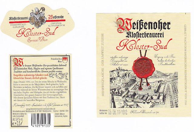 Klosterbrauerei Weißenohe: Kloster-Sud (Nr. 61)