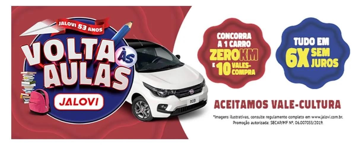 Promoção Javoli Papelaria Volta às Aulas 2020 - Carro 0KM e 10 Vales-Compras