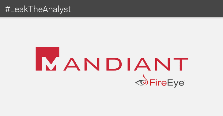 Hacker Leaks Data From Mandiant (FireEye) Senior Security Analyst