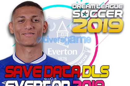 Download Save Data (profile.dat) Dream League Soccer Everton 2019/2020