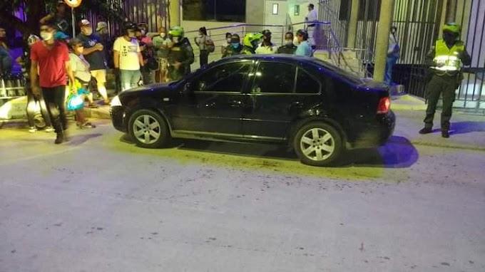 Balacera dejó tres muertos en plena Avenida del Libertador