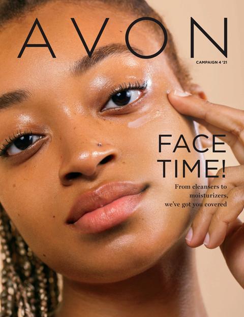 Face Time! - AVON Flyer Campaign 4 Brochure 2021