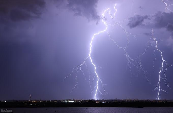 Risque orageux en fin de journée sur le département