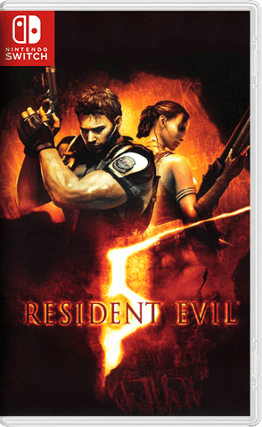 Resident Evil 5 NSP Switch