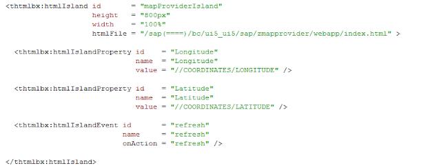 How to integrate an SAPUI5 application into the SAP Web UI, Acorel