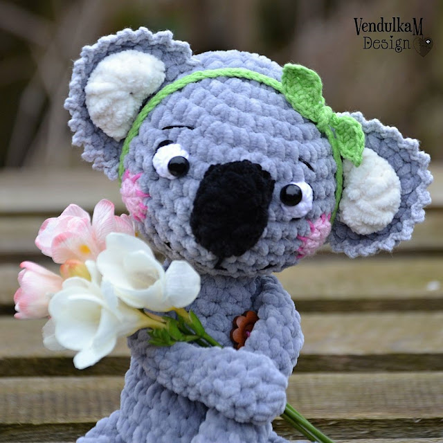 Crochet koala by vendulkam