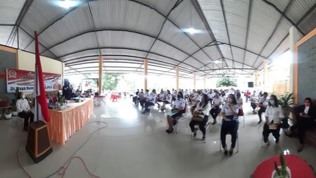 Sosialsaisi Empat Pilar MPR RI, Senator Maya Rumantir Terima Usulan Ini