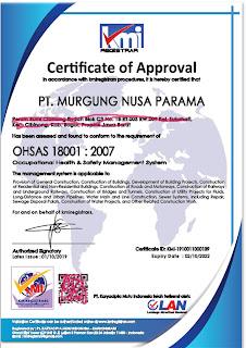 Jasa Pembuatan ISO & OHASS