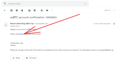 verifikasi email adbtc