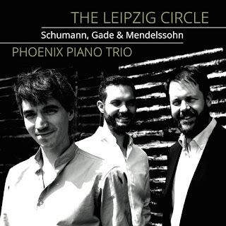 The Leipzig Circle, piano trios by Robert Schumann, Niels Gade, Felix Mendelssohn; The Phoenix Piano Trio; STONE RECORDS