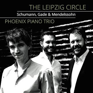 The Leipzig Circle, piano trios by Robert Schumann, Niels Gade, Felix Mendelssohn; The Phoenix Piano Trio; STONE RECORDS