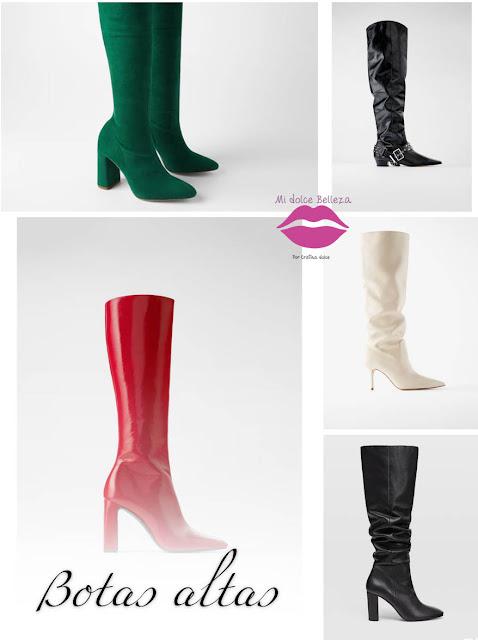 collage botas altas