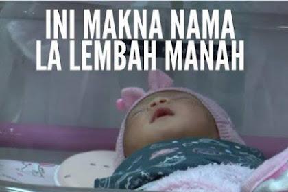 La Lembah Manah,  Uniknya Nama Cucu Presiden Jokowi, La Artinya...