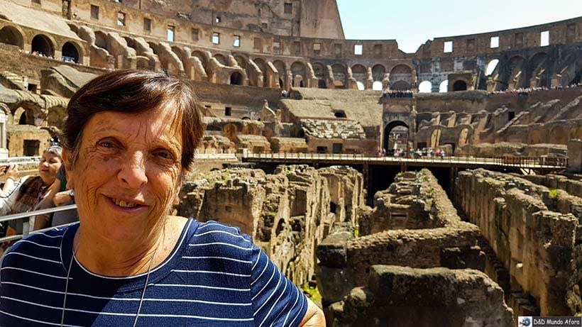 Mamis no Coliseu de Roma: como visitar