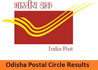 Odisha Postal Circle Results